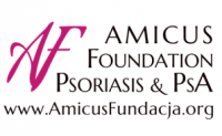 Amicus Foundation Psoriasis and PAS Logo